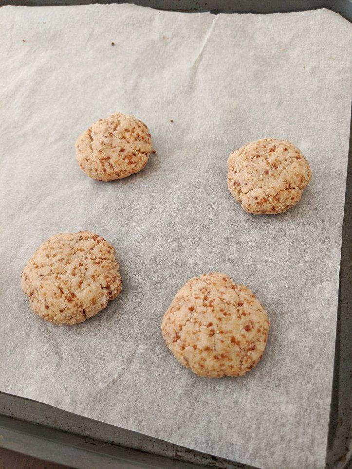 my august bakes almond flour shortbread cookies