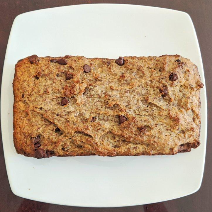 my august bakes almond flour banana bread