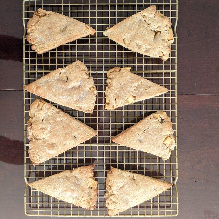my september bakes apple cinnamon scones