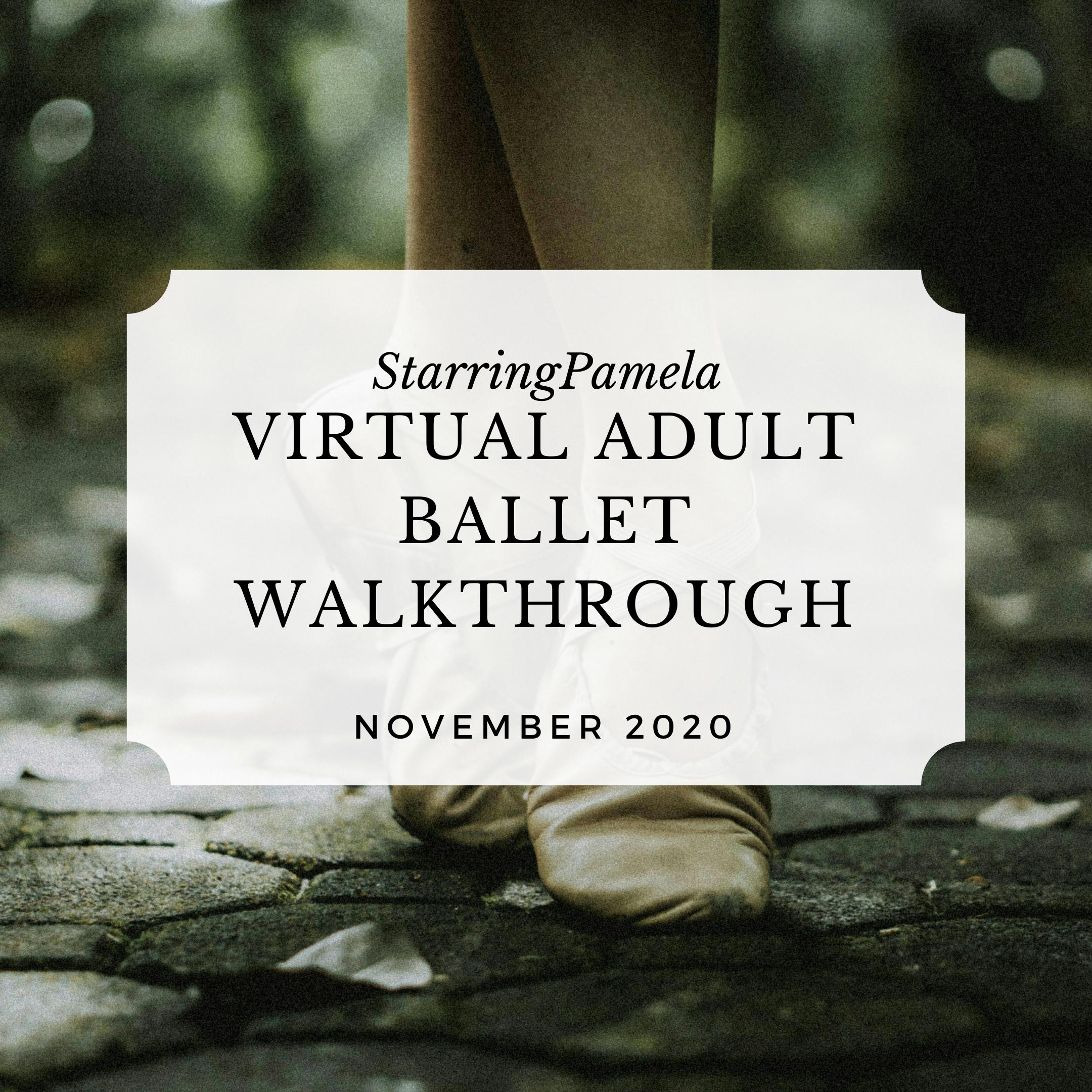 virtual adult ballet class walkthrough featured image