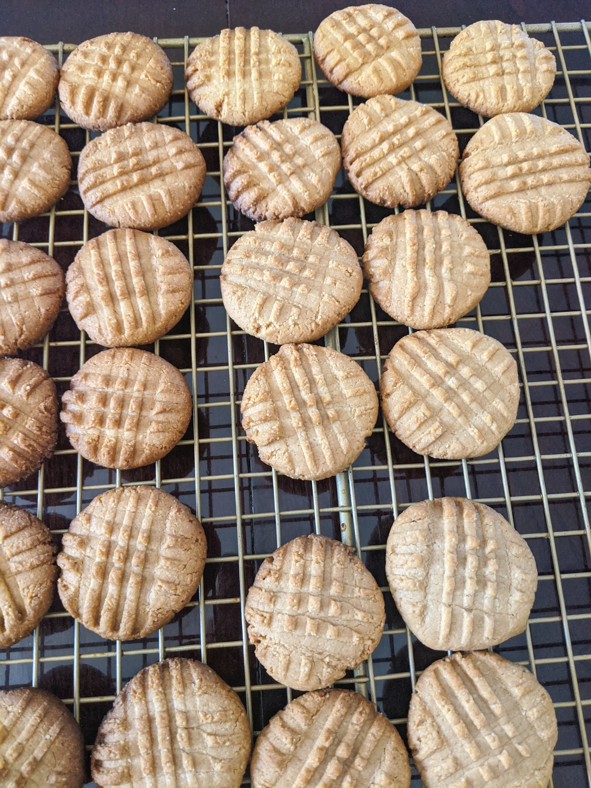 my october bakes peanut butter cookies