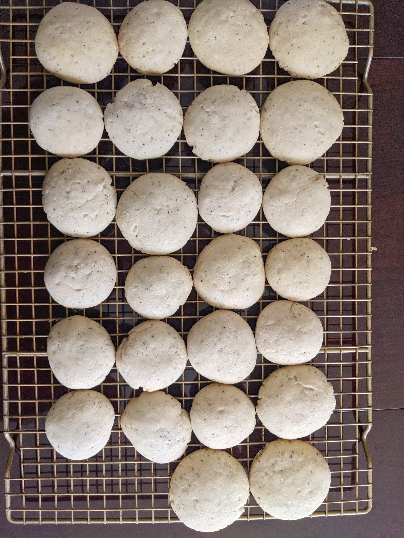my october bakes chai vanilla cookies