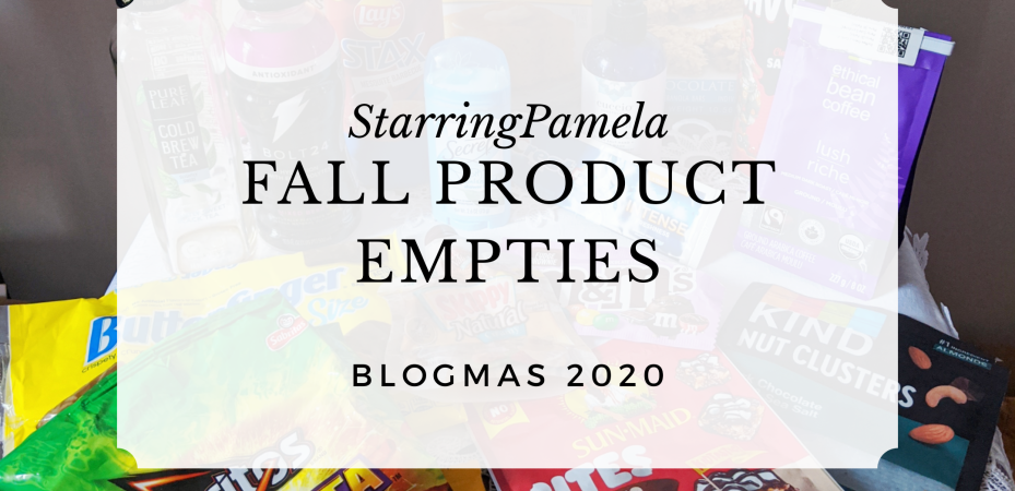 fall product empties featured image