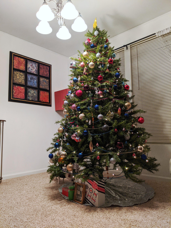 my 2020 christmas tree