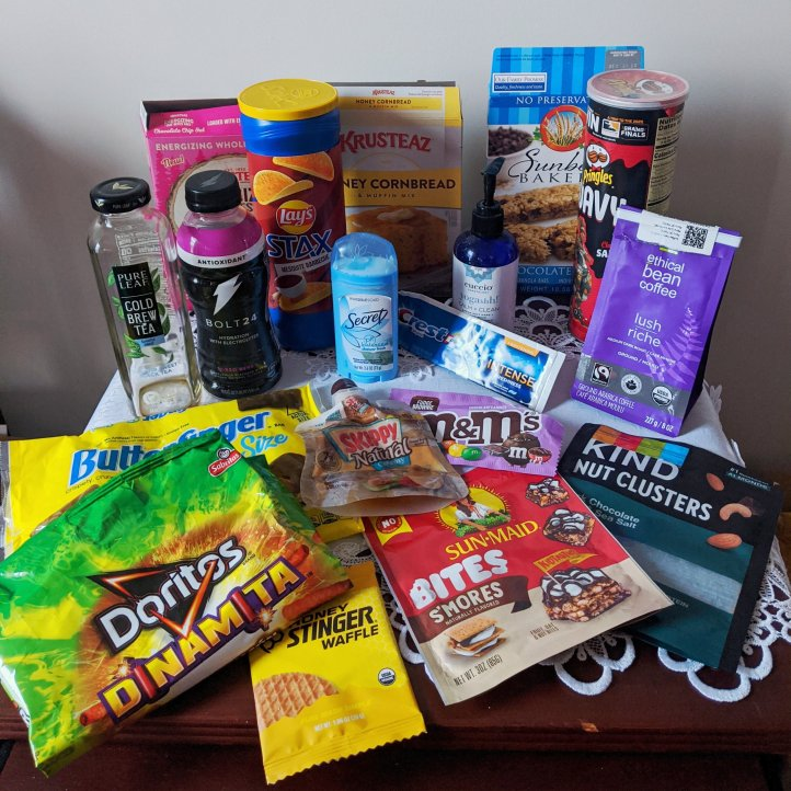 fall product empties
