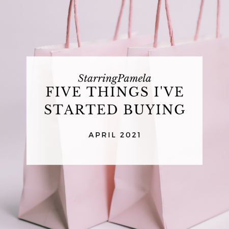 five things I've started buying featured image
