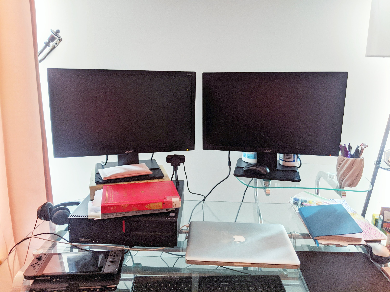 my new wfh desk tour